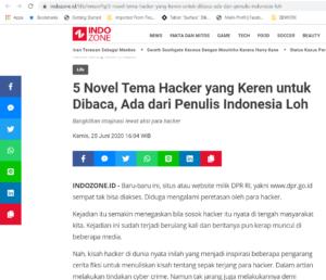 Indozone - 5 Novel Tema Hacker yang Keren untuk Dibaca